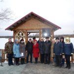 В селе Курья Кытмановского района состоялось торжественное открытие беседки художника Алексея Константинова
