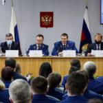 Губернатор Виктор Томенко поблагодарил работников прокуратуры за взаимодействие в решении вопросов жителей края